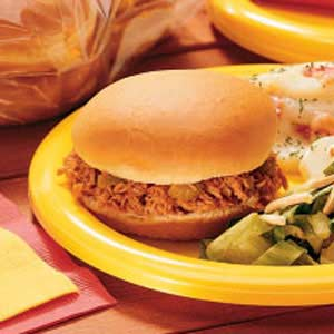 Barbecued Pork Sandwiches Recipe