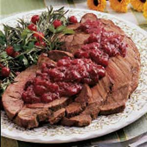 Pot Roast with Cranberry Sauce Recipe