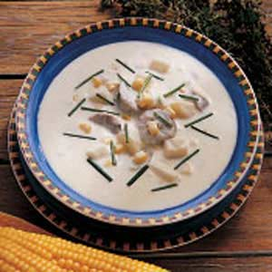 Corn and Sausage Chowder Recipe