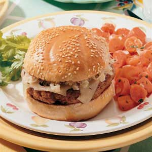 Reuben Burgers Recipe