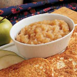 Sugarless Applesauce Recipe