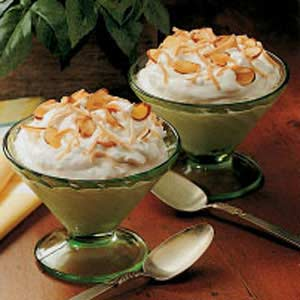 Coconut Parfaits Recipe