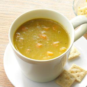 Hearty Vegetable Split Pea Soup Recipe