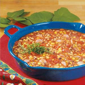 Black-Eyed Pea Sausage Stew Recipe