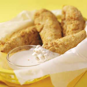 Parmesan Chicken Fingers Recipe