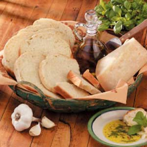 Garlic Basil Bread Recipe