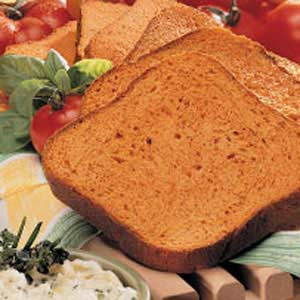 Herbed Tomato Bread Recipe