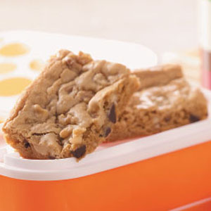 Dark Chocolate Orange Blondies Recipe