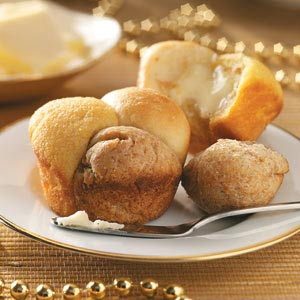 Triple-Tasty Cloverleaf Rolls Recipe