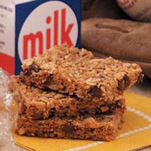 Honey-Oat Granola Bars Recipe
