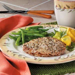 Italian Rubbed Pork Chops Recipe