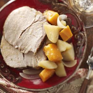 Pork Roast Dinner Recipe
