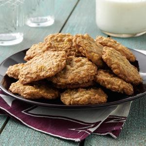 Toasted Oatmeal Cookies Recipe