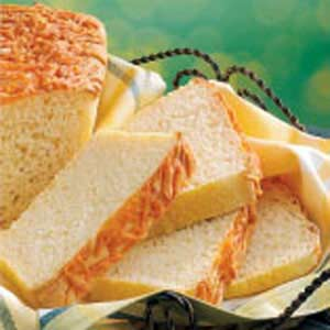 Cheddar-Topped English Muffin Bread Recipe