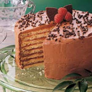 Chocolate Cookie Torte Recipe