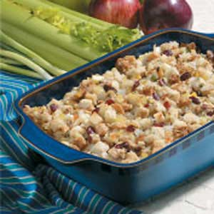 Sweet 'n' Savory Apple Stuffing Recipe
