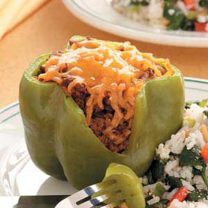 Spud-Stuffed Peppers Recipe