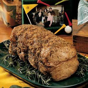 Herbed Pork Roast Recipe