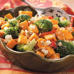 Broccoli & Sweet Potato Salad Recipe