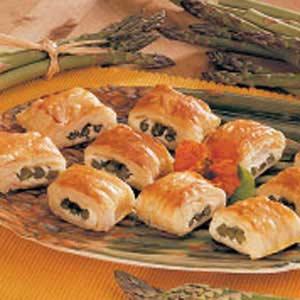 Asparagus in Puff Pastry Recipe