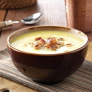 Curried Acorn Squash Soup Recipe