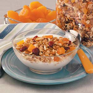 Toasted Almond Granola Recipe