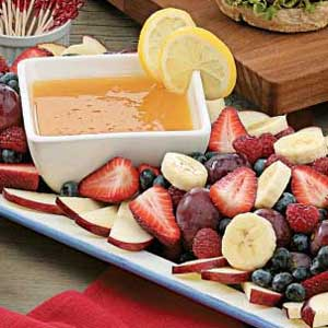 Orange Fruit Dip Recipe