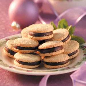 Mint Sandwich Cookies Recipe