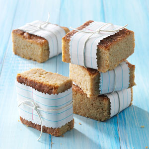 Snickerdoodle Blondie Bars Recipe