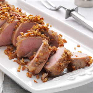 Apple-Pecan Pork Tenderloin Recipe