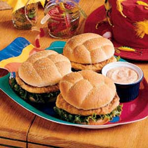 Saucy Fish Sandwiches Recipe
