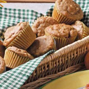 Peanut Butter Oat Muffins Recipe