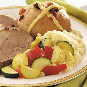 Vegetable Medley with Couscous Recipe