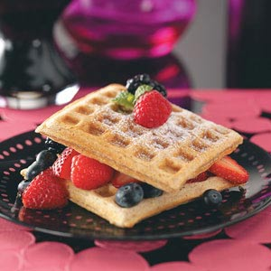 Wholesome Whole-Grain Waffles Recipe