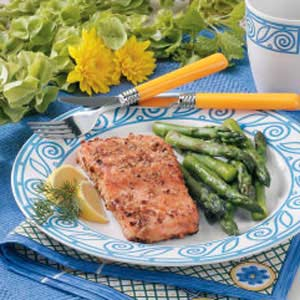 Crusted Salmon Recipe