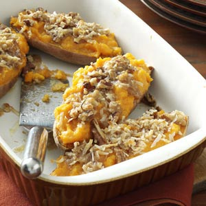 Makeover Streusel-Topped Sweet Potatoes Recipe
