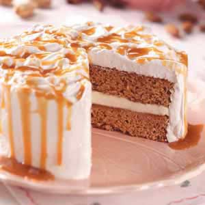 Caramel Nut Torte Recipe