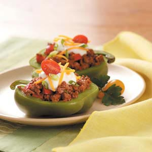 South-of-the-Border Stuffed Peppers Recipe