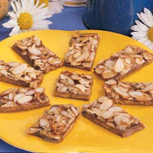 Toffee Crunch Grahams Recipe