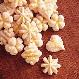 Lemon-Butter Spritz Cookies Recipe