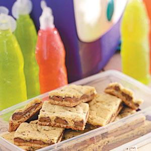 Chewy Caramel Bars Recipe