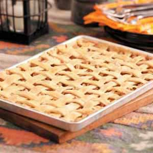 Pear-Apple Pie Bars Recipe