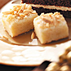 Holiday Almond Bars Recipe