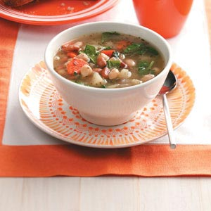 Three-Bean Soup Recipe