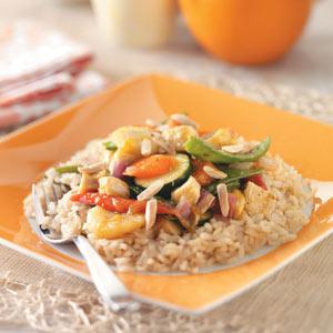 Mango Chicken with Plum Sauce Recipe