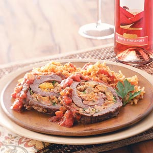 Flank Steak Santa Fe Recipe
