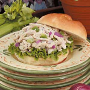 Flavorful Chicken Salad Sandwiches Recipe
