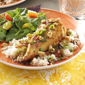 Orange Walnut Chicken Recipe