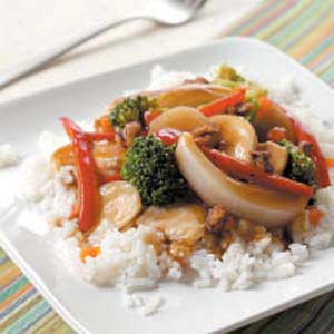 Stir-Fried Walnut Chicken Recipe