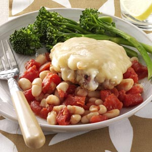 Makeover Mediterranean Chicken & Beans Recipe